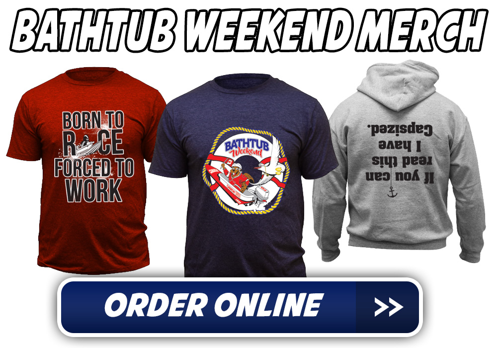 Bathtub Weekend Merchandise like Tshirt and Hoodies